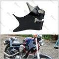 Motocicleta STEED400 Tampa Moldura Preta Pescoço Cowl Para H o n d uma Sombra VT600 VT 600 VLX 600 STEED STEED400 400