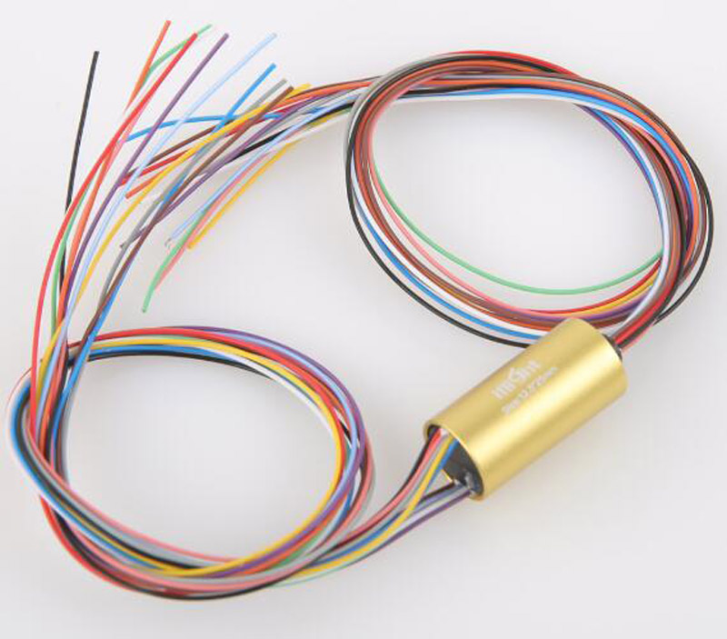1pcs High Current Gimbal Slipring Diameter 12.5mm 12 Channel 2A Rotating Joint Conduct Electric Slip Ring for RC Hobby Accessory