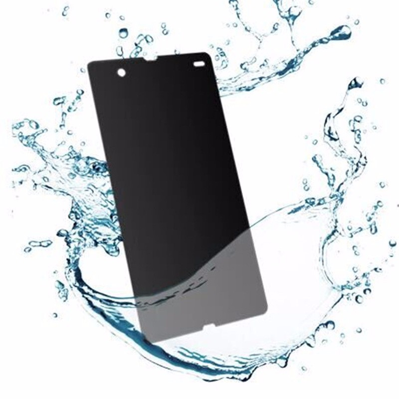 Anti Spy Peeping Tempered Glass Screen Protector Privacy For Sony (3)