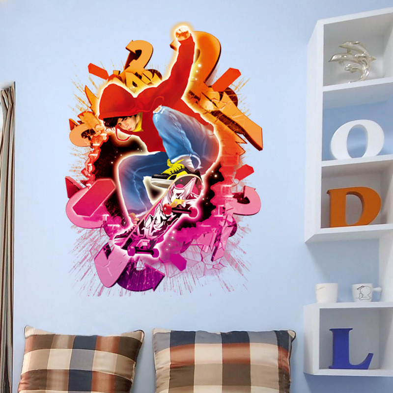 Skateboard Decorations online buy wholesale skateboard decorations for boys room from
