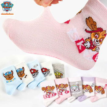 10 stücke = 5 pairs Echte Paw Patrol socken chase marshall everest Action Figure Patrulla Canina Spielzeug Geschenk Patrulla kinder spielzeug geschenk