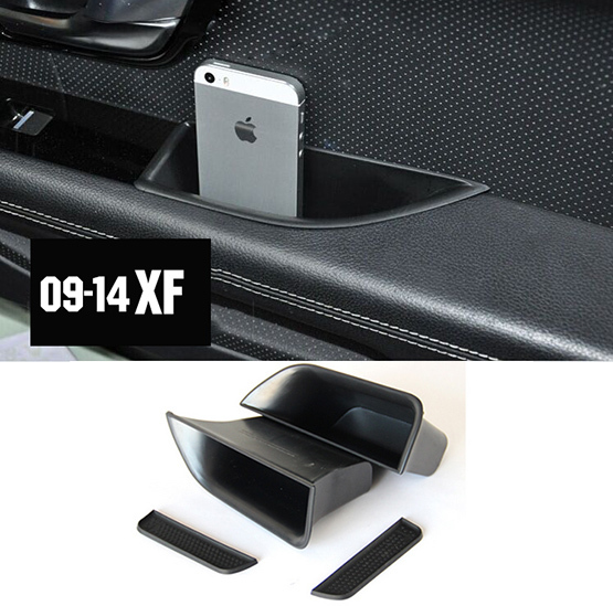 ACCESSORIES FIT FOR 2009 2010 2011 2012 2013 2014 JAGUAR XF DOOR SIDE WINDOW STORAGE BOX CUP PALLET CONTAINER ARM REST BIN