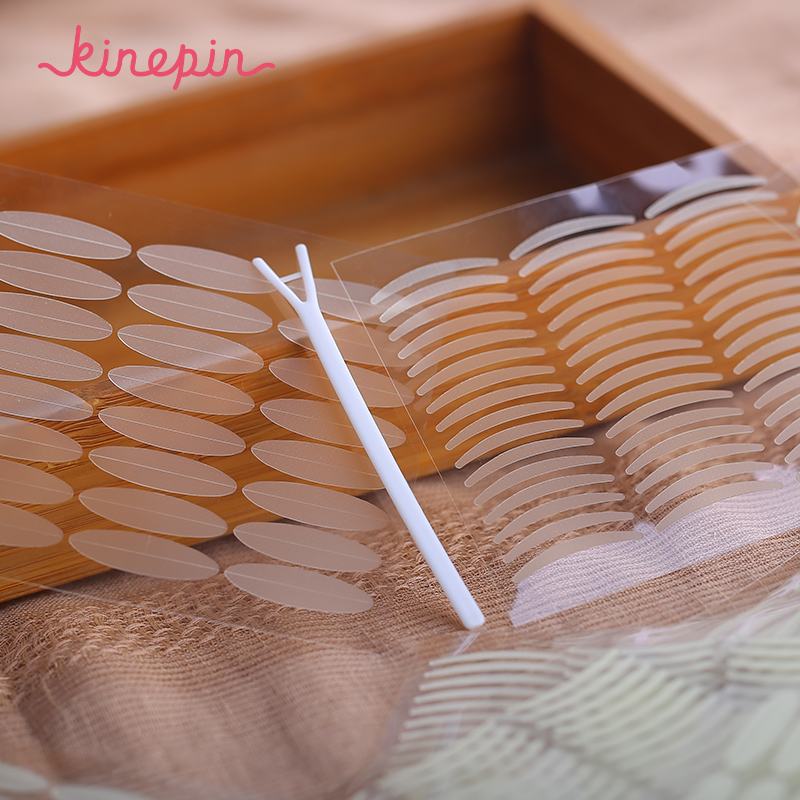 KINEPIN 1056pcs ögonlockbandsklister Invisible Eyelid Paste Transparent Självhäftande Double Eye Tape Tools