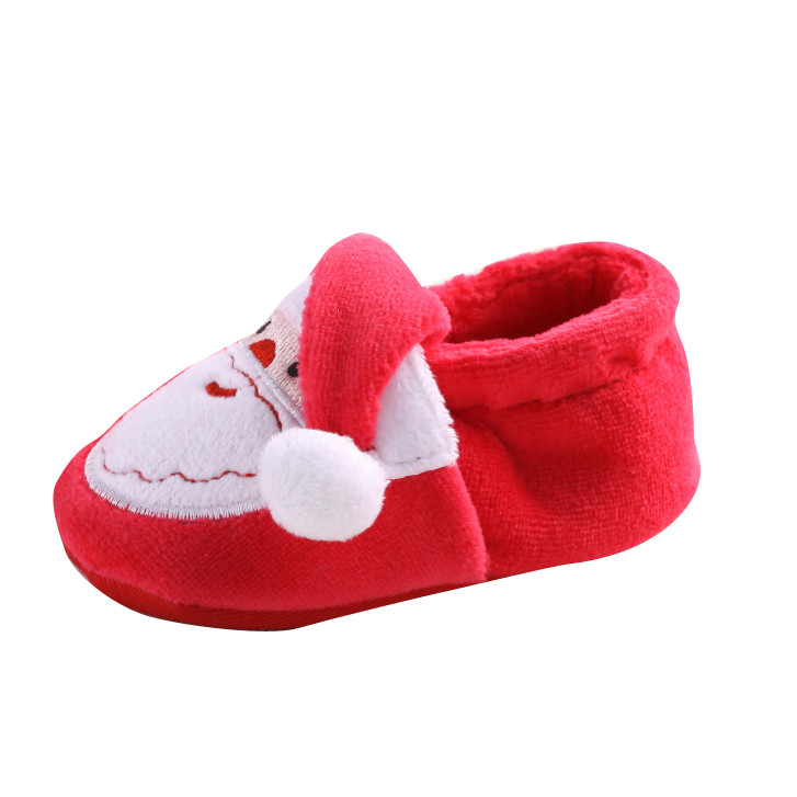 #5 SZYADEOU 2018 NEW HOT Fashion Toddler Infant Newborn Santa Claus Soft Sole Baby Girl Boy Prewalker Shoes Free Ship