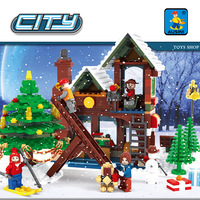 Diy Building Block Bricks Beautiful Toy Store DIY Kids Toy for Children Compatible with Legoingly for Christmas Gifts