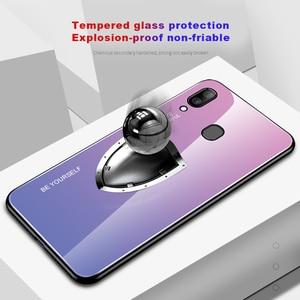 Image 5 - Samsung Galaxy A20E A20S A20 degrade temperli cam Samsung kılıfı Samsung A20 E r E r E r E r E r E r E r E r E r E r A 20e A20e Aurora renkli arka kapak