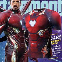 High Quality Hot-selling Fitness Gym Bodybuilding O-Neck Polyester TShirt 3D Marvel Avengers Endgame Iron Man T Shirt Men