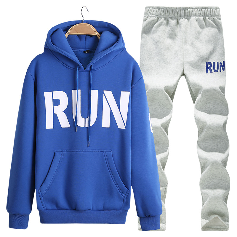 letters printing font b sweater b font hoodie jacket matching jogger pants sport suits outdoor sportswear