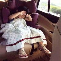 Baby Blankets Cotton Knit Swaddle Me Alphabet Pattern Children Bedding Air Conditioning Baby Inbakeren Trolley Blanket