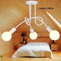 Vintage Pendant Lamps Bulb 40W Luminaria Home Lighting Lustre Lamparas De Techo Plafon Lampadari Luz Suspension Hanging Lights