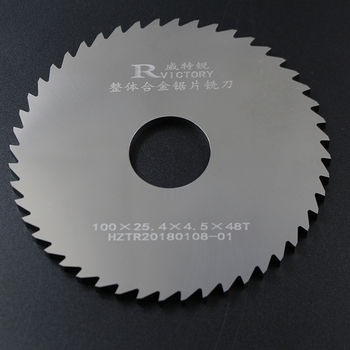 2pcs 100mm Thick 0.7mm to 2mm Round Saw Blade Solide Carbide Circular Milling Saw Blades CNC Lathe Metal Cutting Tool