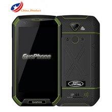 """Guophone V16 телефон с 4 г LTE 5.0 """"Android 5.0 MTK6737 1 ГБ + 16 ГБ ROM 8MP IP68 отпечатков пальцев водонепроницаемый оригинальный мобильный телефон"""