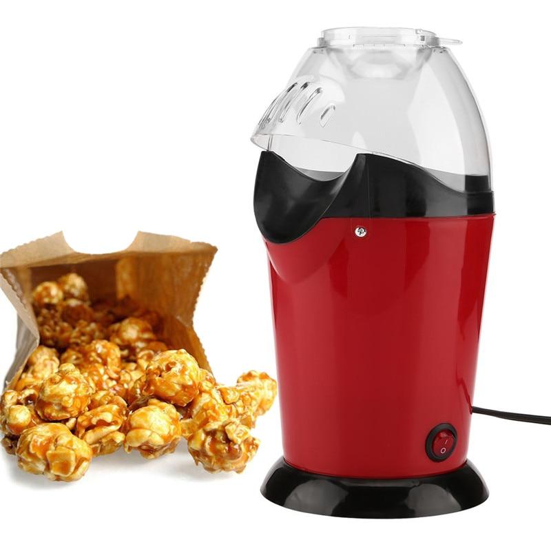 все цены на Portable Electric Popcorn Maker Home Round/Square Hot Air Popcorn Making Machine Kitchen Desktop Mini DIY Corn Maker 1200W Gifts онлайн