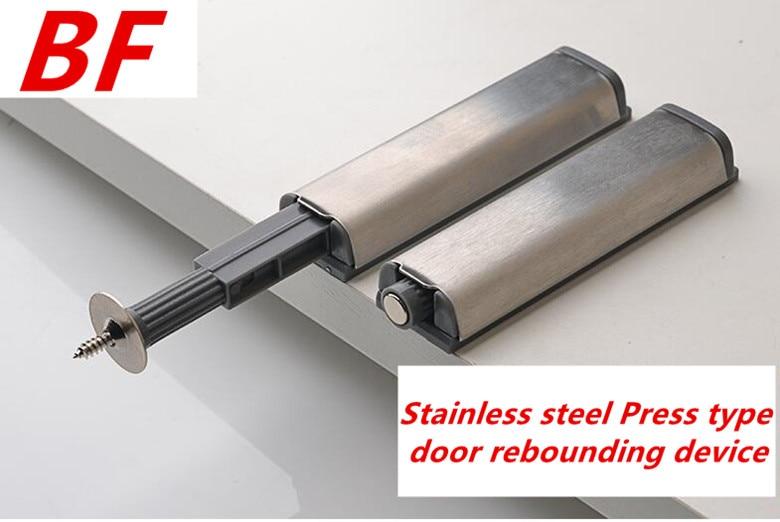 Push To Open Hinge Heavier System Damper Buffer Door Cabinet Stainless steel ABS