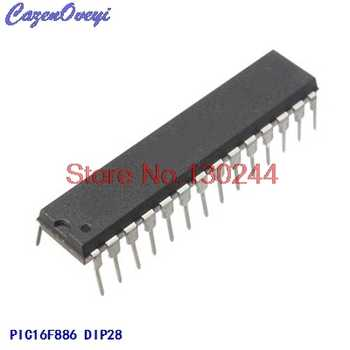 10pcs/lot PIC16F886-I/SP PIC16F886ISP PIC16F886 16F886-I/SP DIP28 In Stock - DISCOUNT ITEM  0% OFF All Category
