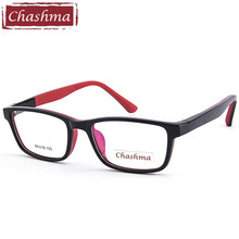 Chashma Brand Kids 10 Years Old Teens Girl and Boy Glasses TR 90 Rubber Frames Prescrpiton Eyeglasses Frame for Child