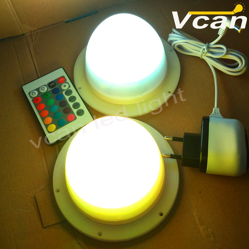 10PCS DHL Free Shipping Factory Wholesale LED light source Lamp Base/luminous furniture light base/battery powered