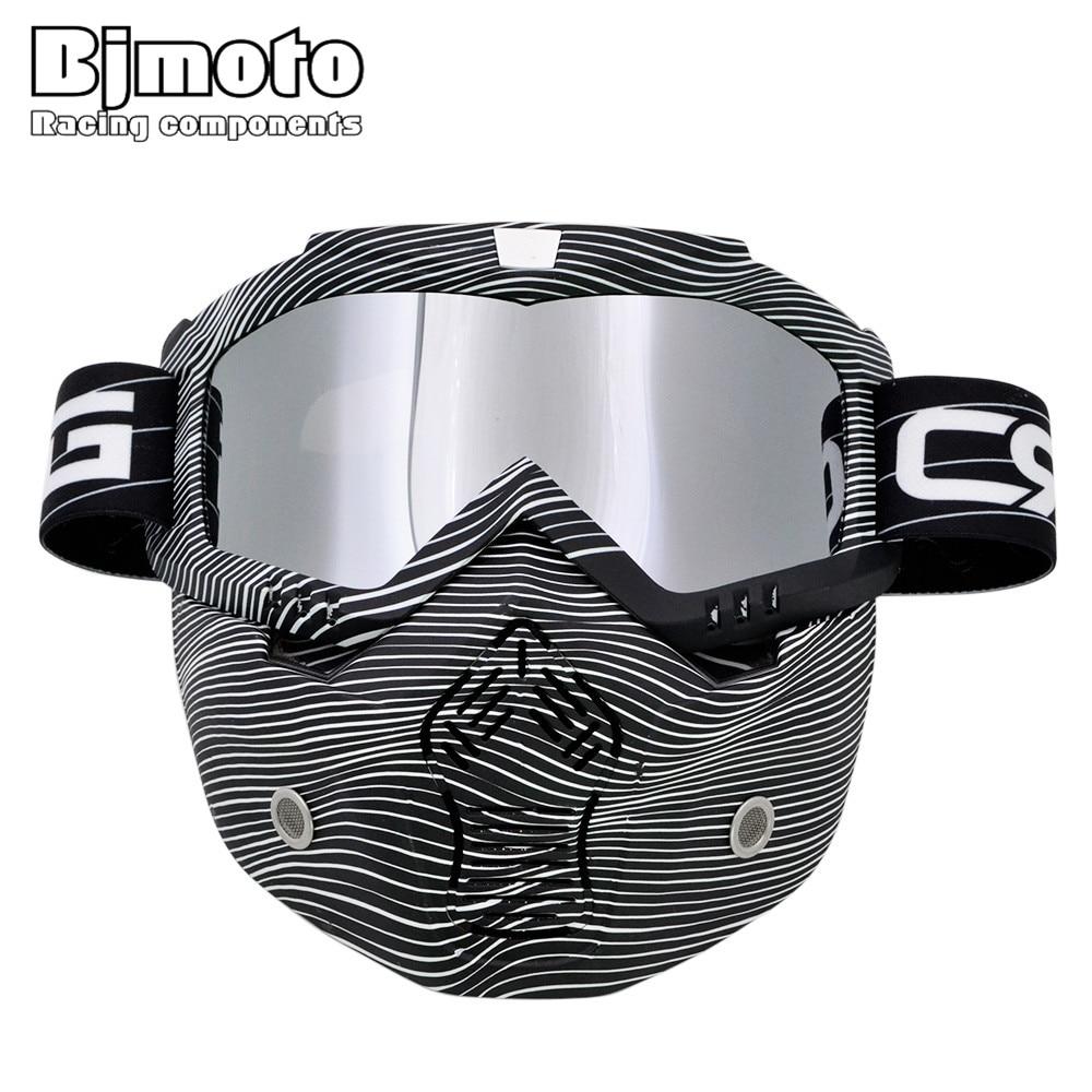 Motorrad Motocross Goggle Brille Brille Dirt Bike Racing Off-Road ATV Reiten