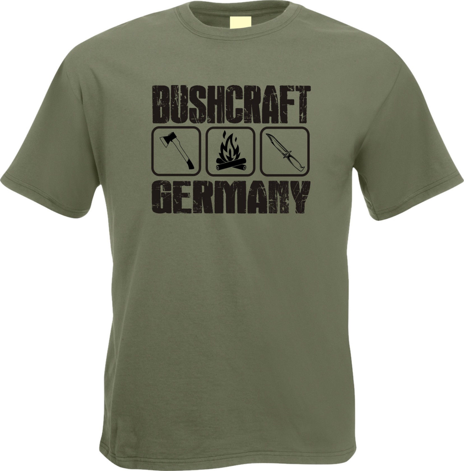 ❌ Bushcraft marcheurs T-shirt waldvolk édition limitée taille XL ❌