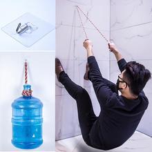 2pcs/lot New Transparent Removable Bathroom Kitchen Wall Strong Paste Hook Stick Home Key Towel Hanger Holder Hooks