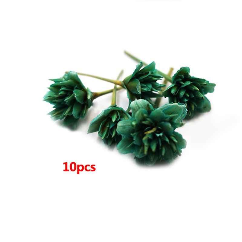 10 Teile/schachtel Trockenen Blume Handgemachte Blumen DIY Handwerk Silikon Form Harz Füllstoff Werkzeuge Epoxy UV Kristall Dekoration Accessori