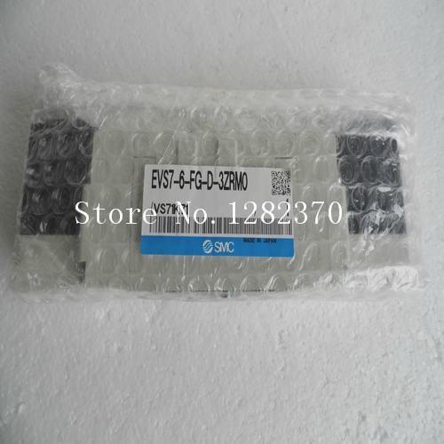 [SA] New Japan genuine original SMC solenoid valve EVS7-6-FG-D-3ZRM0 spot [sa] new japanese original smc solenoid valve plate vvqc4000 1a d 03 spot