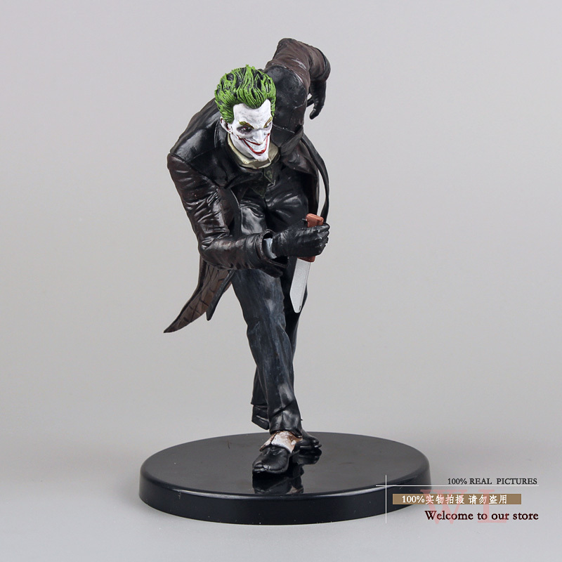 Super Heroes Batman The Joker PVC Action Figure Collection Model Toy 6 14cm  Free Shipping batman the joker playing poker ver pvc action figure collectible model toy 19cm