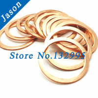 Copper washer M9 (9mm*17mm*1mm)  Copper Flat Washer, Seal washer, Brass washers