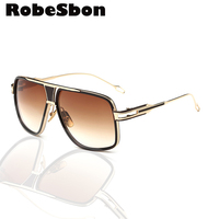 2016 New Brand Designer Men Sunglasses Metal Fraem Retro UV400 Women High Quality Glasses Lunettes De