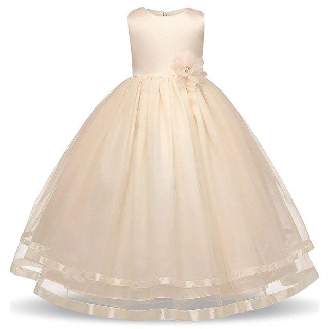 Baby Mädchen Lange Abendkleid Kinder Kleidung Kleider Für Mädchen ...