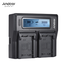 Andoer NP FZ100 Safe Fast Dual Channel Camera Battery Charger for Sony A7III A9 A7RIII A7SIII Camera Battery Charger
