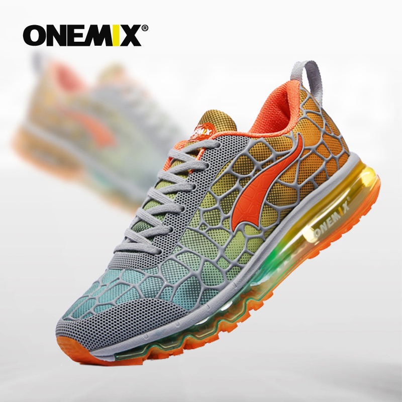 Onemix Air cushion running original men s Breathable athletic Outdoor sport shoes for men running shoes