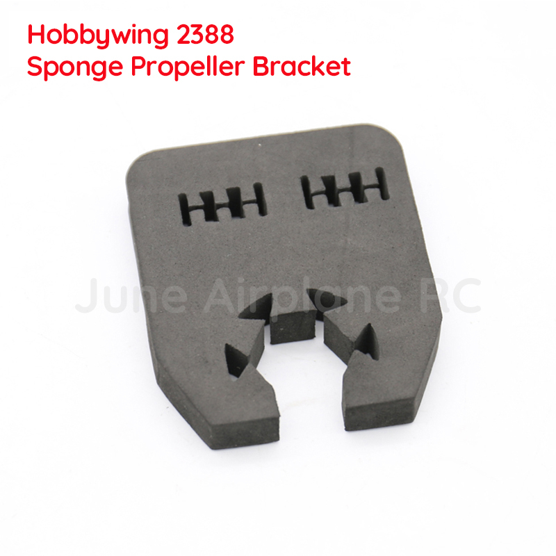 6PCS Hobbywing 2388 3090 Sponge Propeller Bracket 23inch 29inch Props Protection Holder Stand Support Trestle for RC Aircraft image