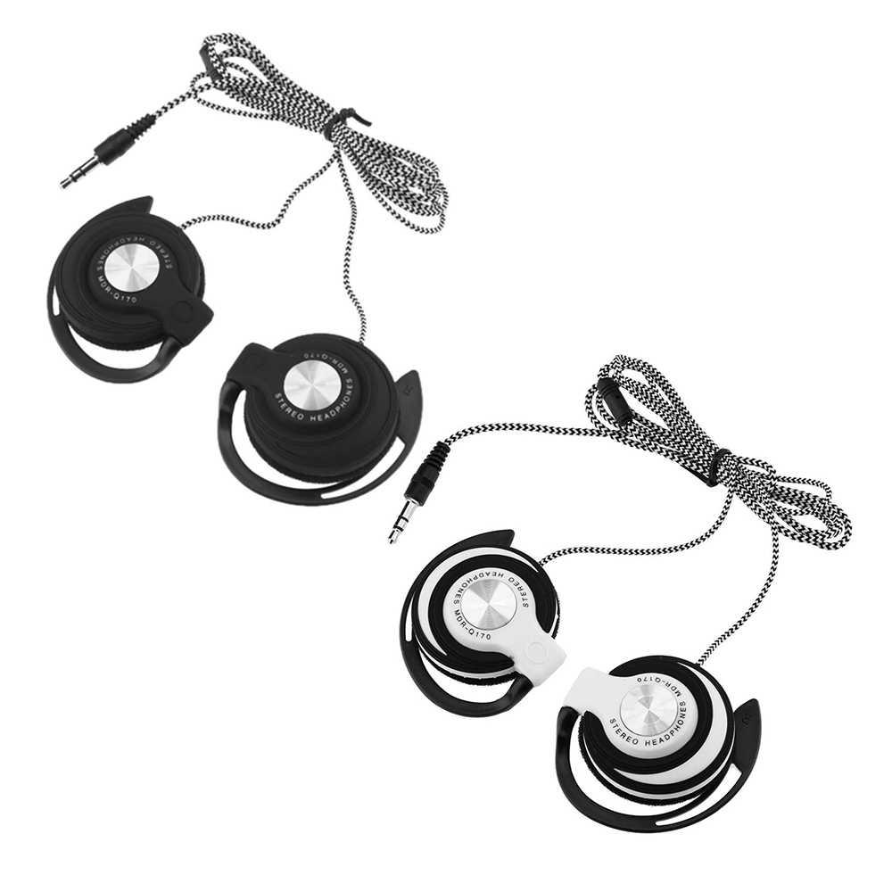 3.5 ミリメートル有線ゲームヘッドセットの耳のスポーツヘッドフォン耳フック音楽イヤホン用ノートパソコンのデスクトップ PC