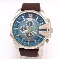 Relogio Masculino Men Watches Top Luxury Popular Brand Watch Man Quartz Watches Clock Men Genuine Leather