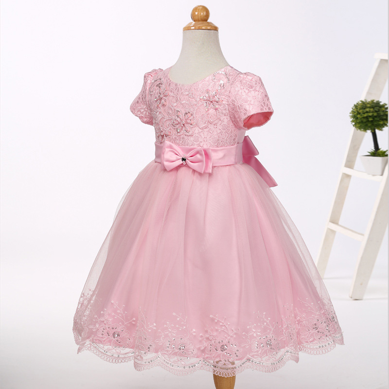 Little   Girls     Flower     Girl     Dresses   Pageant Spaghrtti Beading Organza Embroider Ball Gown Wedding