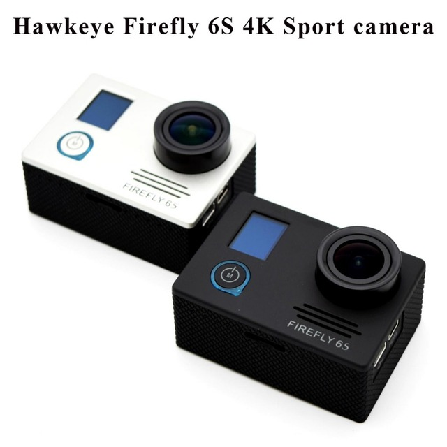 Hawkeye firefly 6 s 4 k sport fhd dv 16 m cmos wifi fpv de estabilización de cámara a prueba de agua