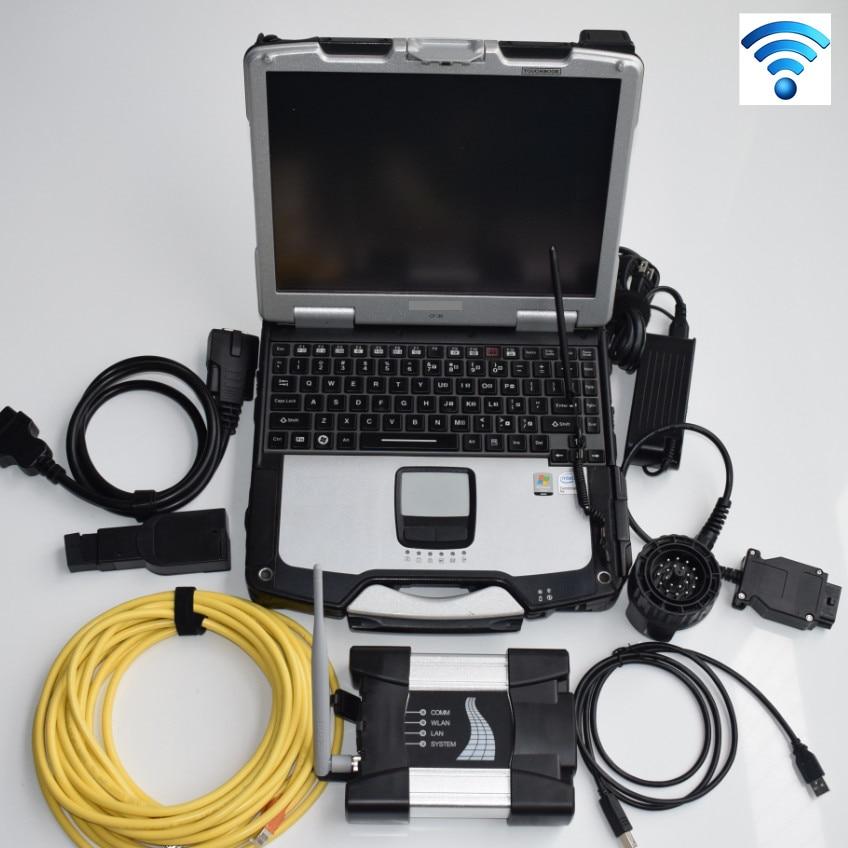 Beste Für Bmw Diagnose Scanner Für Bmw Icom Nächste Mit Wifi Und Software Ssd Experten Modus Mit Laptop Cf-30 Programmierung Werkzeug