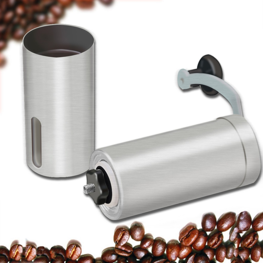 Pepper Mill Home Coffee Grinder Stainless Steel Manual Coffee Grinder Conical Burr Mill For Precision Brewing Small Office