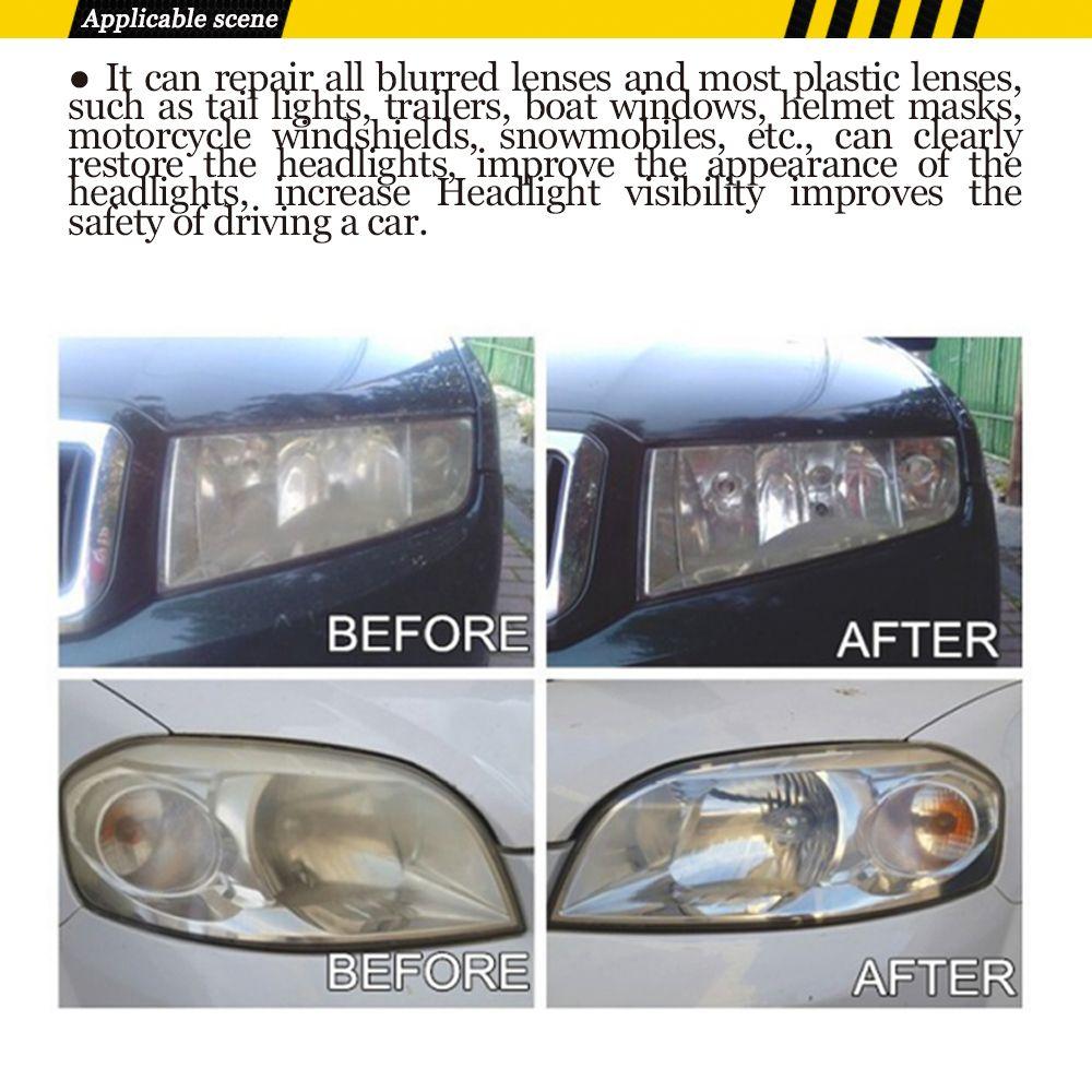 1 Set Professional Car Headlight Lens Restoration System Restorer