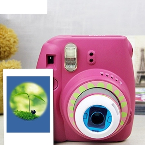 Image 3 - Fujifilm Instax Mini 7 s/8/8 +/9 Film Kamera 5 Adet Renk Filtresi Yakın Çekim lens