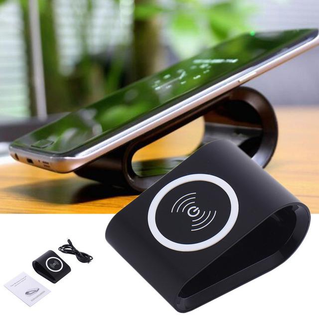 Rápido qi carregador de carregamento sem fio pad para samsung para iphone huawei miezu xiaomi nokia lg stand rápida rápida carregador sem fio