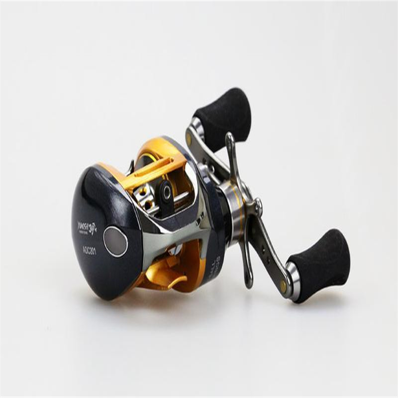 Hight Quanlity Water Drop Wheel Left / Right Handle AOC All-metal Bait Casting 12+1 Bearings Fishing Reel Gear 18bb 1 ball water drop wheel bearings double brake baitcasting reel fishing gear right left hand bait casting fishing wheel