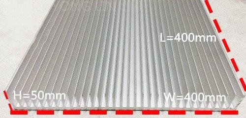1 pièces dissipateurs de chaleur/puissance Industrielle radiateur/400*50 400/Aluminium personnage/l'environnement En Aluminium-in Ventilateurs et refroidissement from Ordinateur et bureautique on AliExpress - 11.11_Double 11_Singles' Day 1