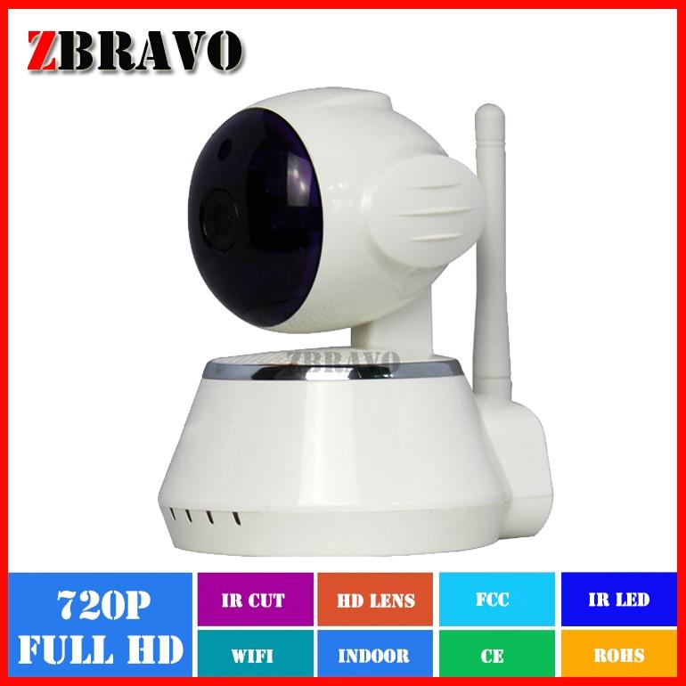 ФОТО Cheap Price! 1.0 megapixel Full HD 720P Plug and Play Wifi Wireless Onvif Network Home Guard IP Camera SD Card Slot Night Vision