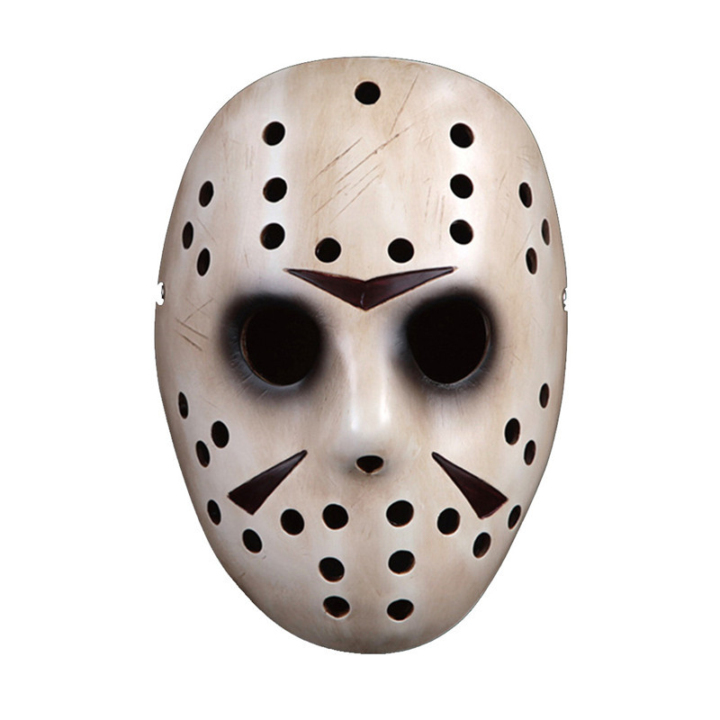 freddy vs jason scary mask mascaraterror masquerade halloween props for killer mask movie theme masks cosplay - Scary Props