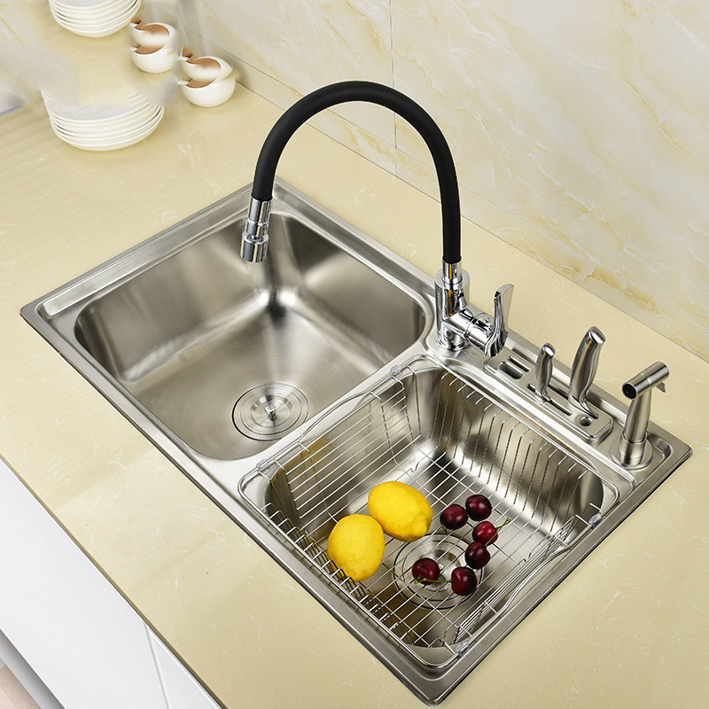 Rectangular Red Bathroom Toilet Tempered Glass Container Basin Sink Mixer Faucet