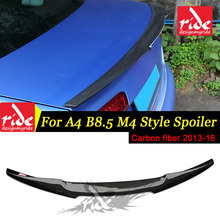 For Audi A4 A4a A4Q A4A High-quality Rear Spoiler Tail B8.5 New M4-Style Coupe Carbon Fiber Trunk Wing 2013-16