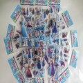 Al por mayor para 500 unids Anna & Elsa spiderman mickey Dora Princesa Advangers pegatinas juguetes, pegatinas para los niños, juguetes para los niños