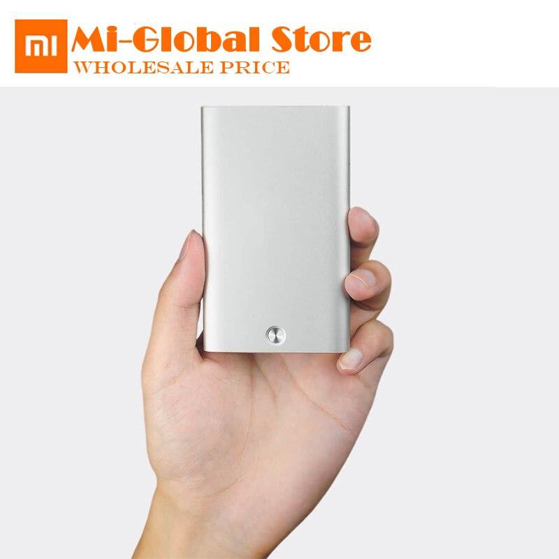 Xiaomi MIIIW karte fall Kreative Mechanische taste Alle aluminium legierung abdeckung 70,4g Brieftasche ID Karte Box protable für mann und frau